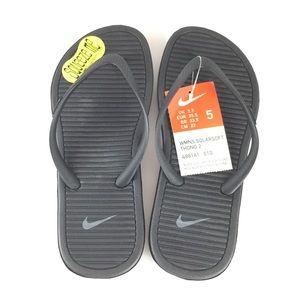 Nike Women's Solarsoft Thong 2, Size 5